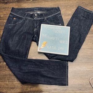 Hudson Dark Wash Skinny Jeans Size 26